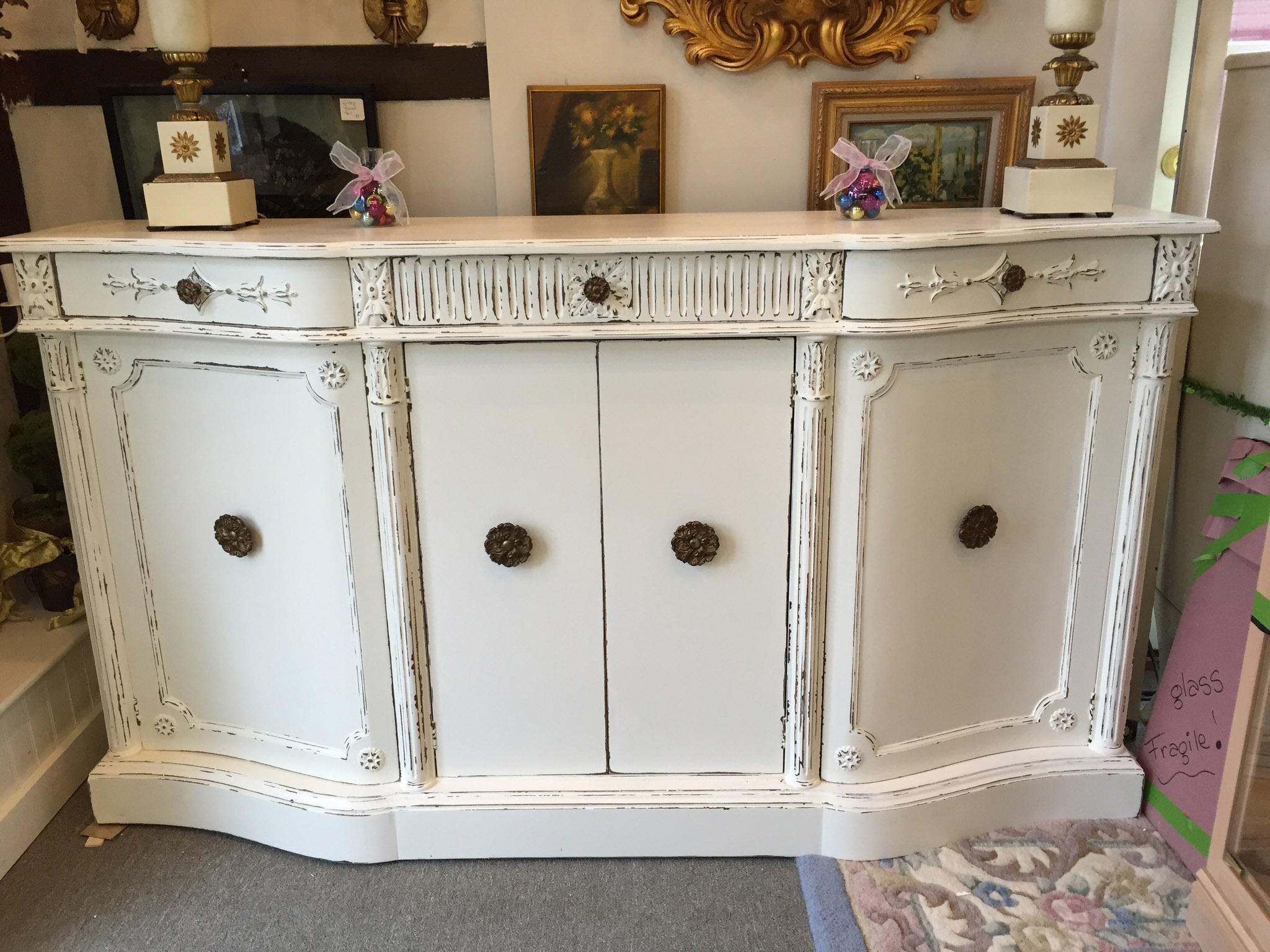 Shabby Chic Sideboard Brand New To Store!!! Awesome!!